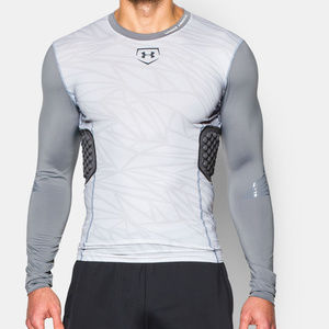 Under Armour Baseball Padded Compression Shirt